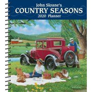 John Sloane's Country Seasons 2020 Monthly/Weekly Planner Calendar (Other)