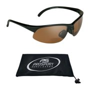 Prosport Semi Rimless Sport Frame Bifocal Reading Sunglasses