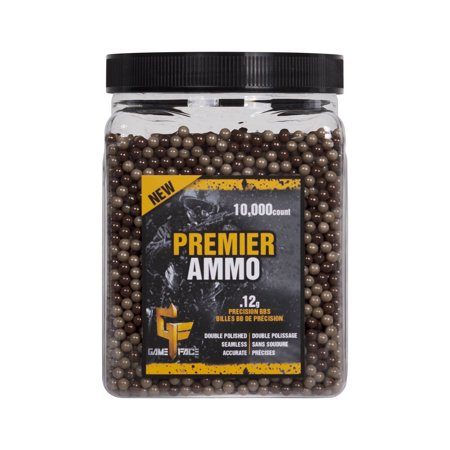 Gameface Camo Airsoft BBs by Crosman 12gr ammo, (Best Airsoft Bbs To Use)