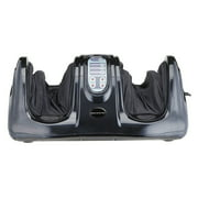 Orion Motor Tech Electric Shiatsu Kneading Rolling Foot Massager Black
