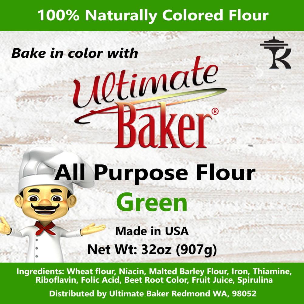 Ultimate Baker All Purpose Flour Green (1x2lb)