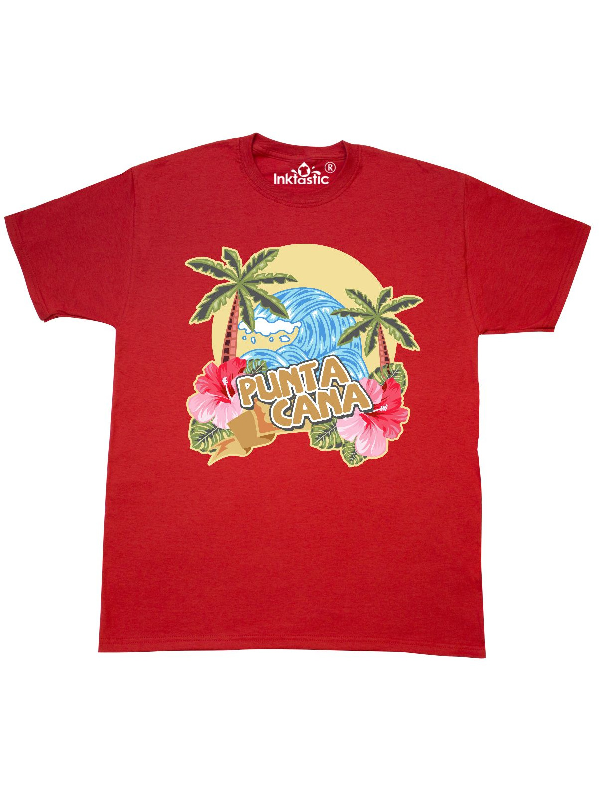 inktastic Family Vacation with Flip Flops Palm Trees and Hibiscus Baby T-Shirt