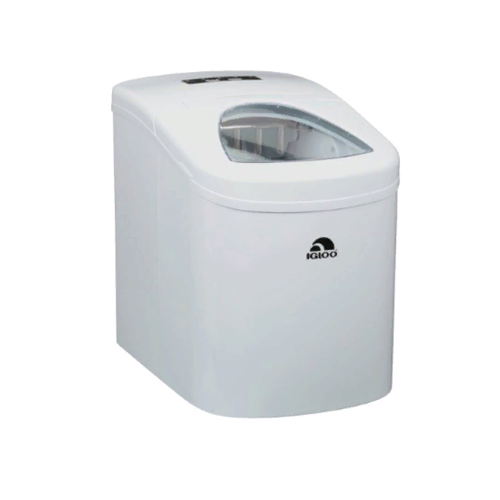 Igloo ICE108 - White Compact Portable Ice Maker White - Manufacturer Refurbished