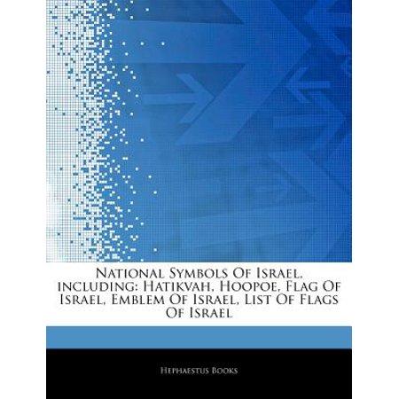 National Symbols Of Israel Including Hatikvah Hoopoe Flag Of