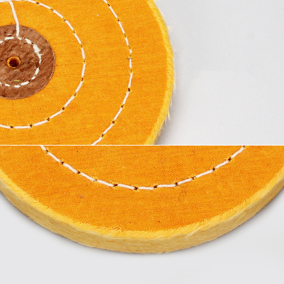 4mm Hole 3-8 Inch Cotton Lint Cloth Polishing Pad Wheel For Gold Silver Jewelry