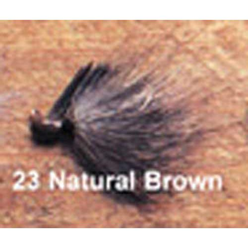 Click here to buy Arkie 1 8 Bucktail 6 cd Natural Brown.