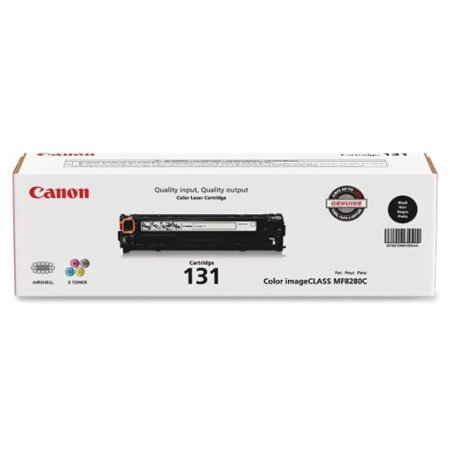 Canon Laser Printer Toner Cartridge - Black - Laser - 1400 Page - 1 Each