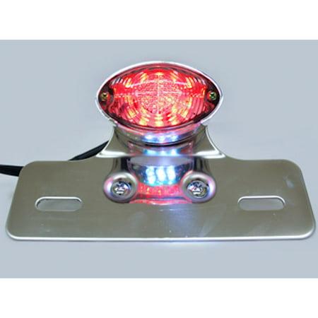 Custom LED License Plate Taillight Brake Light For Ducati Regolarita 125 Ala Rossa 350 - image 2 de 7