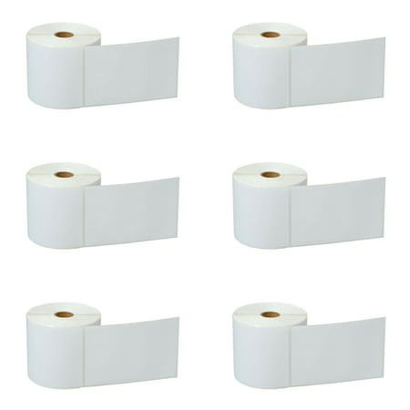 Shipping Code (GREENCYCLE 6 Roll (500 Labels/Roll) Compatible Direct Thermal Paper Label 4 x 6 inch 1'' Core Blank Shipping Address Barcode Multi-function Labels For Zebra GK420D LP-2622 TLP-2844 Label)