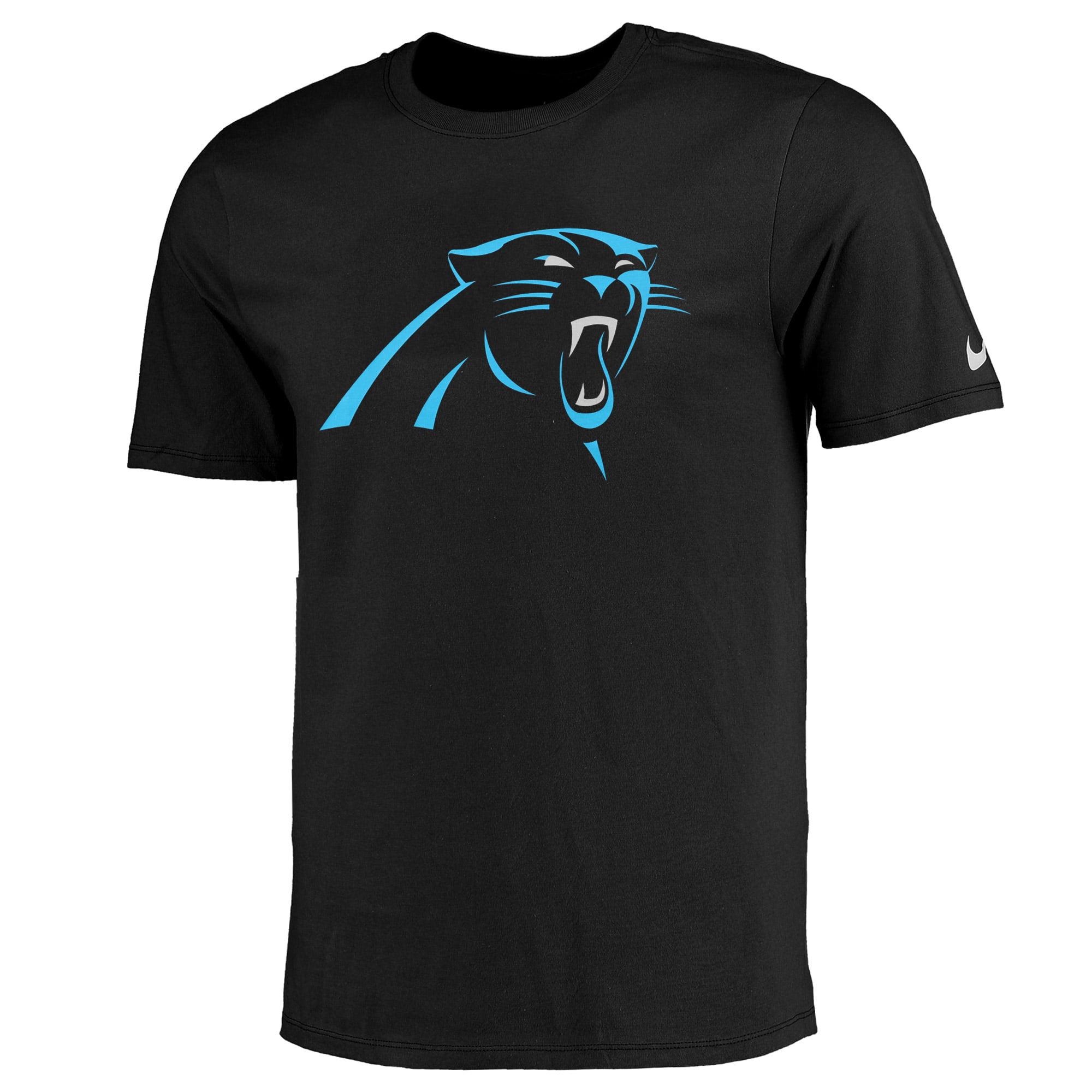 Carolina Panthers Nike Essential Logo T-Shirt - Black