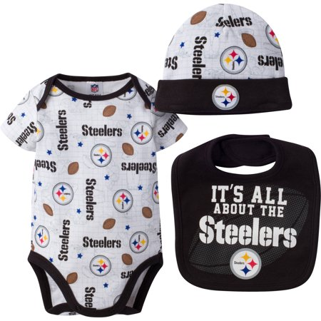 a0fe0efce7e NFL Pittsburgh Steelers Baby Boys Bodysuit