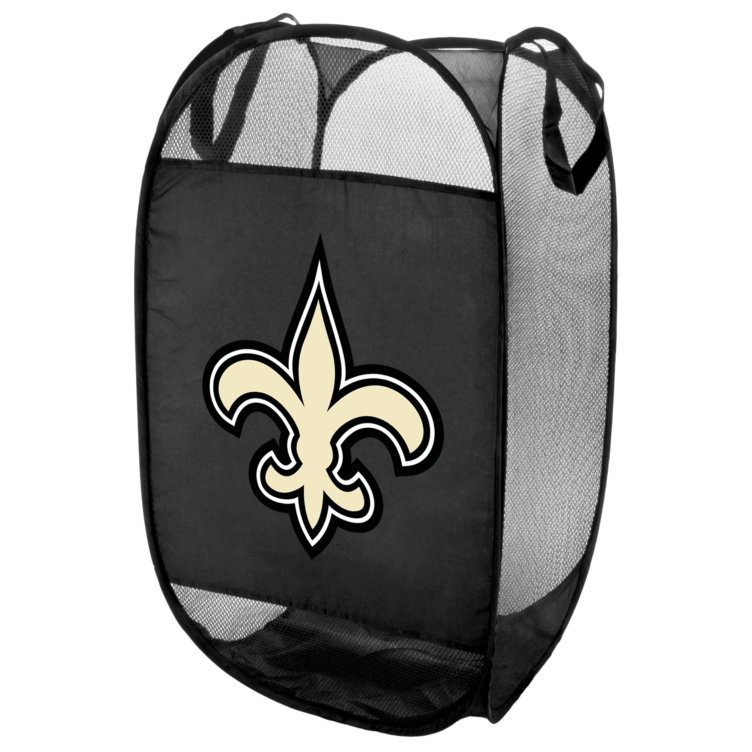 New Orleans Saints Official NFL Laundry Hamper Fold Up Flip Open by Forever Collectibles 050049