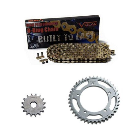 1998-2001 Kawasaki Ninja ZX9R ZX900 O-Ring Chain and Sprocket Kit Gold - The Gold Ninja