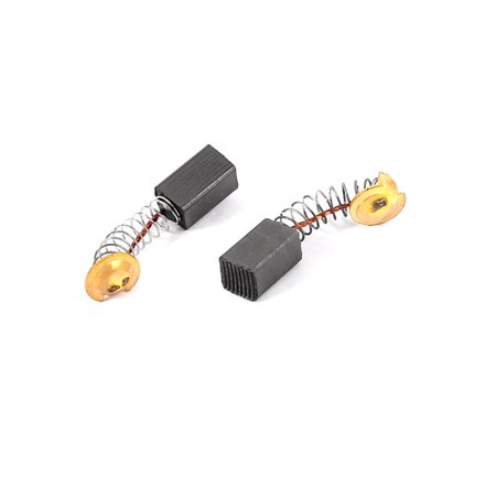 2 Pcs Replacement Electric Motor Carbon Brushes 12mm X 7mm