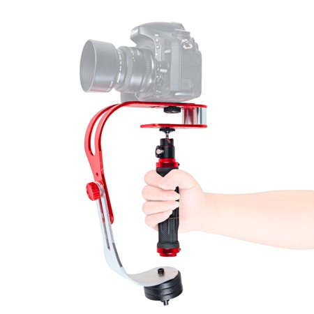 VGEBY Pro Handheld Stabilizer Video Camera Stabilizer Steady for GoPro Smartphone Cannon Nikon or any DSLR camera up to 2.1 lbs With Smooth Pro Steady Glide Cam
