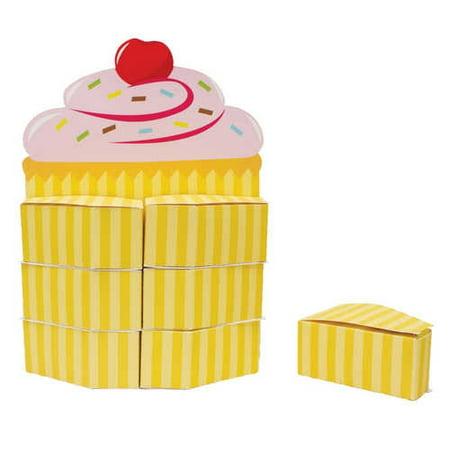 Cupcake Party Favor Box - Cupcake Centerpieces
