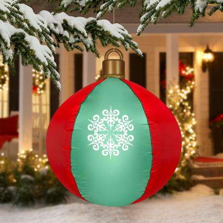 Airblown Inflatable -Hanging Ball Ornament 2.5ft tall by ...