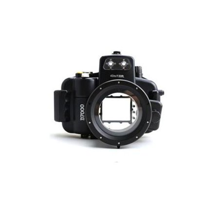 Polaroid Waterproof Housing Case For Nikon D7000 SLR Camera with 18-55mm Lens