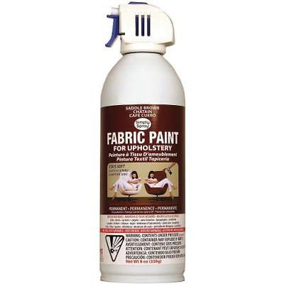 Simpy Spray Upholstery Spray Fabric Paint 8oz-Saddle Brown 1 Piece(s)