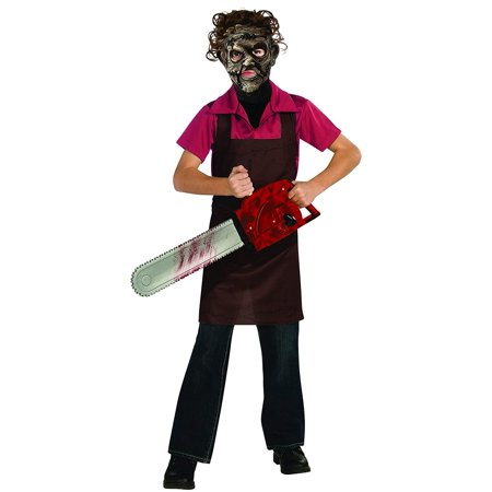 Texas Chainsaw Massacre III Child's Leatherface Costume, Large