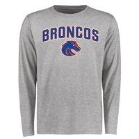 Boise State Broncos Proud Mascot Long Sleeve T-Shirt - Ash