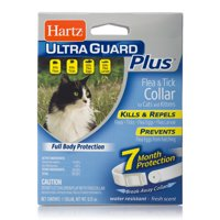 Hartz UltraGuard Plus Flea & Tick Collar for Cats and Kittens