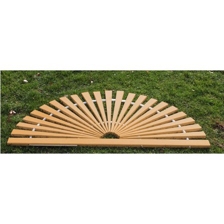 Furniture Barn USA® Red Cedar Sunburst Door Mat - Large