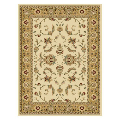 Central Oriental Radiance Amelia Area Rug - Wheat/Gold