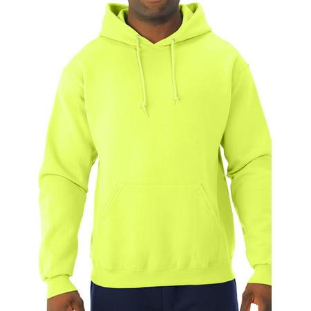 Men's Soft Medium-Weight Fleece Hooded Pullover Sweatshirt