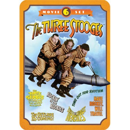 Three Stooges: 6 Movie Set (DVD)