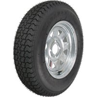 Loadstar Bias Tire and Wheel (Rim) Assembly ST175/80D-13 5 Hole C Ply