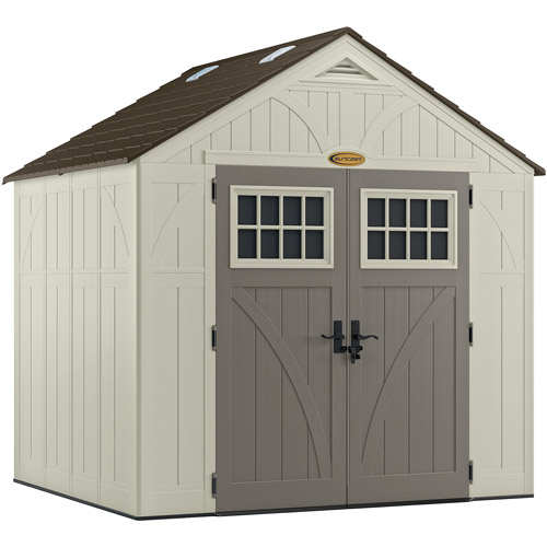 Suncast 8 x 7 Tremont Storage Shed