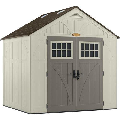 Suncast 378 cu. ft. Tremont® 8x7 Storage Shed, BMS8700
