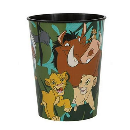 Plastic Yard Cups Wholesale (The Lion King 16oz Plastic Favor Cup)