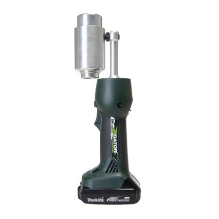 Greenlee 332-LS50L11B Battery-Powered Knockout Punch Driver Tool (Greenlee Battery)