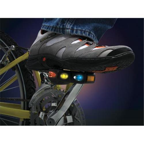 Gadget Universe TH367PD Bike Pedal Safety LED Light - Pair
