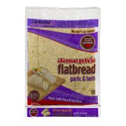 Joseph's Flatbread Garlic & Herb - 5 CT10.0 OZ