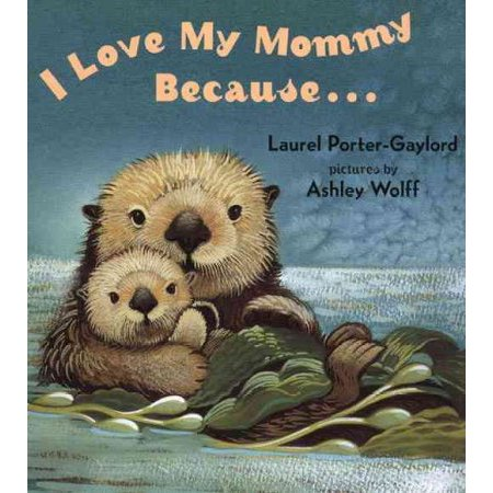 I Love My Mommy Because - Mommy Patch Products