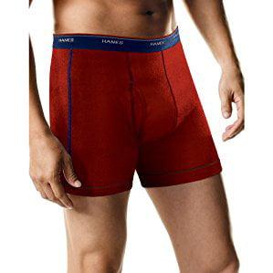 Hanes Mens 5pk Boxer Briefs - Colors May Vary XL