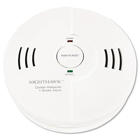 Kidde Night Hawk Combination Smoke CO Alarm w Voice Alarm Warning