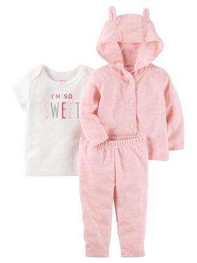a41e45c71f27 Carter s Baby Girls Outfit Sets - Walmart.com