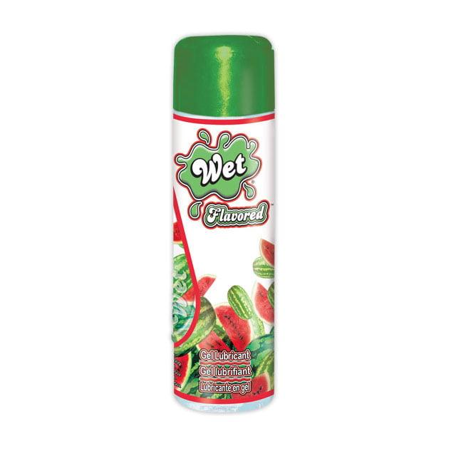 Wet Flavored Water Based Lubricant - Juicy Watermelon - 3.6 oz