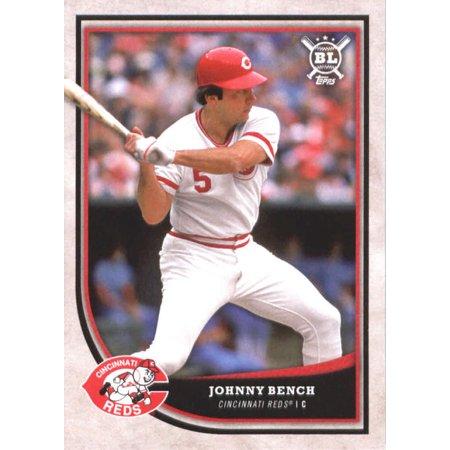 Johnny Bench Cards (2018 Topps Big League #347 Johnny Bench Cincinnati Reds Baseball Card - *GOTBASEBALLCARDS )