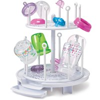 The First Years Spin Stack Drying Rack (White)