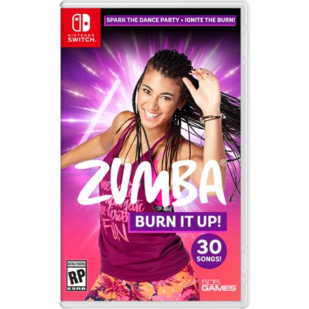 ZUMBA BURN IT UP, Nintendo Switch, 505 Games, 812872017235