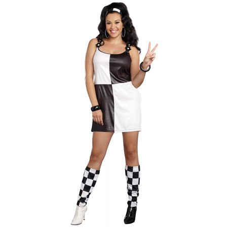Yeah Baby Adult Costume - Plus Size 1X/2X