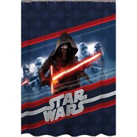 Episode VII Force Awakens Shower Curtain
