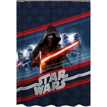 Episode VII Force Awakens Shower Curtain