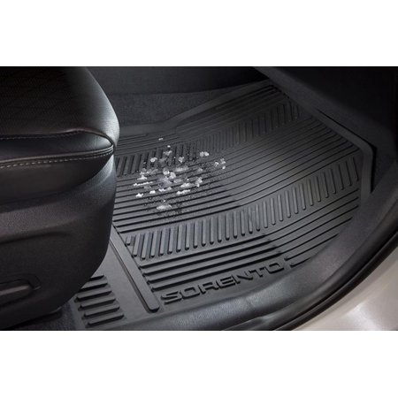 2016-2018 Kia Sorento All-Weather Floor Mat (1st & 2nd