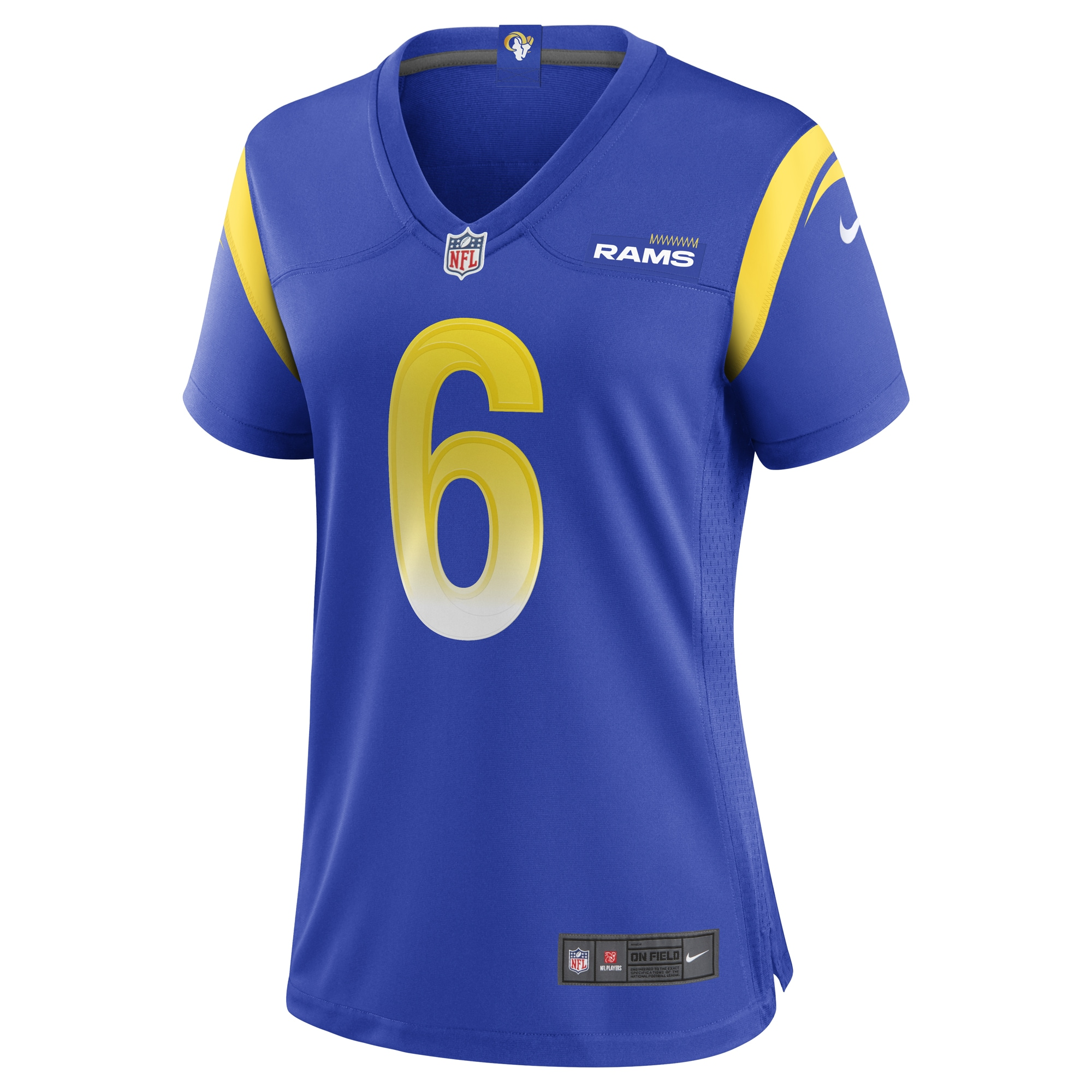 Johnny Hekker Los Angeles Rams Nike Women's Game Player Jersey - Royal